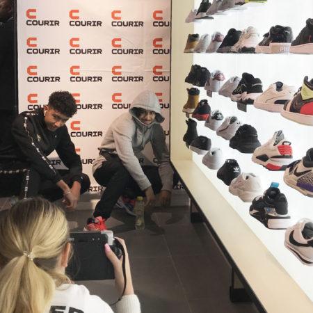Ouvertures des magasins COURIR - Keemia Agence Hors média, Shopper Marketing, Evénementiel