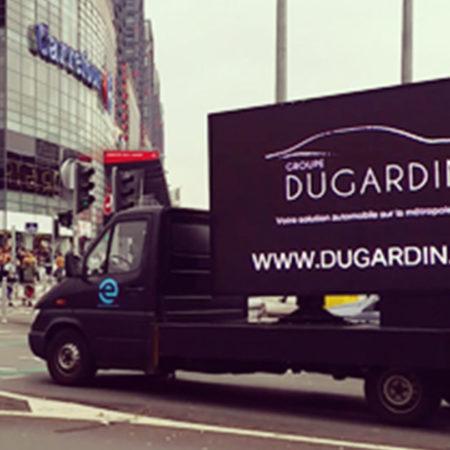 Infiniti Lille en camion Affi'Led Vignette - Keemia Agence Hors média, Shopper Marketing, Evénementiel