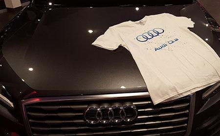 Soirée de Lancement Audi Q2 - Keemia Agence Hors média, Shopper Marketing, Evénementiel