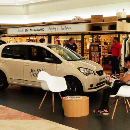 La tournée Seat Mii par Mango - Keemia Agence Hors média, Shopper Marketing, Evénementiel