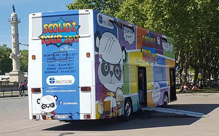 En route avec le Scolioz Tour - Keemia Agence Hors média, Shopper Marketing, Evénementiel