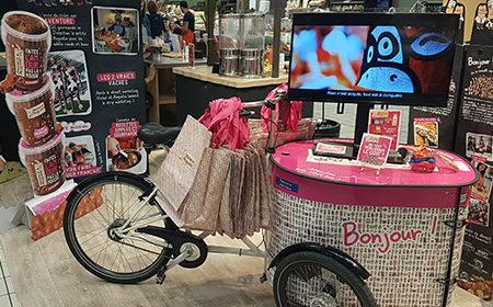 Le shop in shop expérientiel des Trublions du goût - Keemia Agence Hors média, Shopper Marketing, Evénementiel