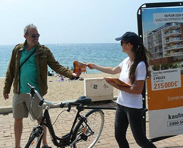 Kaufman and Broad en Bike'Com Vignette - Keemia Agence Hors média, Shopper Marketing, Evénementiel