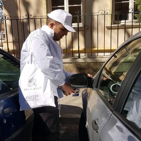 Contrôle de pneus pour Peugeot Vignette - Keemia Agence Hors média, Shopper Marketing, Evénementiel