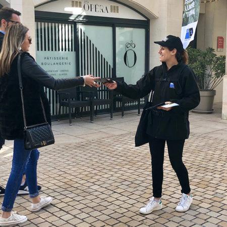 Visibilité street et flag Vignette - Keemia Agence Hors média, Shopper Marketing, Evénementiel