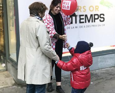 Uniqlo booste son nouveau magasin Vignette - Keemia Agence Hors média, Shopper Marketing, Evénementiel