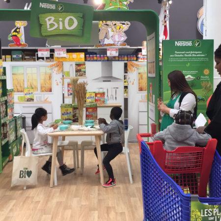 NESTLE lance ses céréales BIO Vignette - Keemia Agence Hors média, Shopper Marketing, Evénementiel