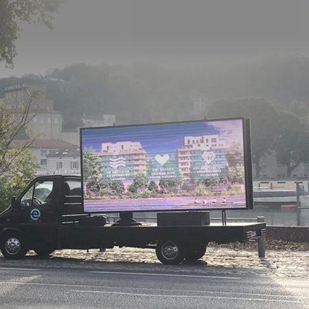 Des JPO sur écran géant LED - Keemia Agence Hors média, Shopper Marketing, Evénementiel