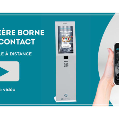 Keemia Digital Borne sans contact - innovation, animation point de vente